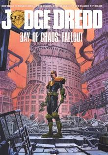 JUDGE DREDD DAY OF CHAOS FALLOUT GN (MR)