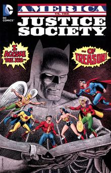 AMERICA VS THE JUSTICE SOCIETY OF AMERICA TP