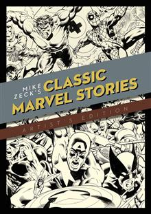 MIKE ZECK CLASSIC MARVEL STORIES ARTIST ED HC (NET)
