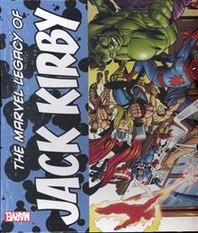 MARVEL LEGACY OF JACK KIRBY SLIPCASE HC