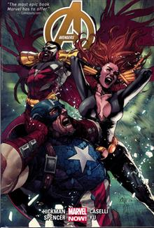 AVENGERS BY JONATHAN HICKMAN HC VOL 02