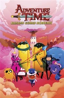 ADVENTURE TIME BANANA GUARD ACADEMY TP VOL 01 (C: 1-0-0)