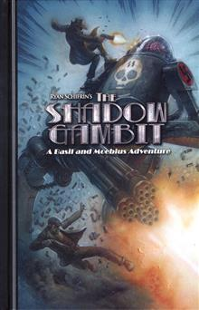 ADVENTURES OF BASIL AND MOEBIUS HC VOL 02 SHADOW GAMBIT (MR)