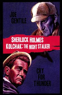 SHERLOCK HOLMES & KOLCHAK CRY FOR THUNDER PROSE NOVEL (RES)