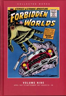 ACG COLL WORKS FORBIDDEN WORLDS HC VOL 09 (C: 0-1-1)