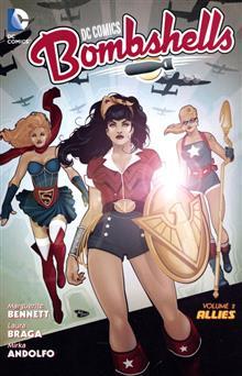 DC COMICS BOMBSHELLS TP VOL 02