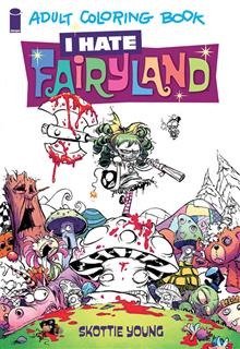 I HATE FAIRYLAND COLORING BOOK TP