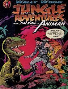 WALLY WOOD JUNGLE ADV JIM KING & ANIMAN DLX SLIPCASED HC (MR