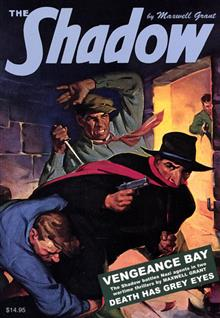SHADOW DOUBLE NOVEL VOL 108 VENGEANCE BAY & DEATH GREY EYES