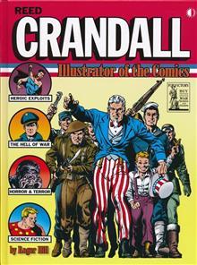 REED CRANDALL ILLUSTRATOR OF COMICS HC