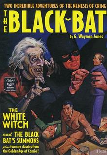BLACK BAT DOUBLE NOVEL #8 BLACK BATS SUMMONS & WHITE WITCH