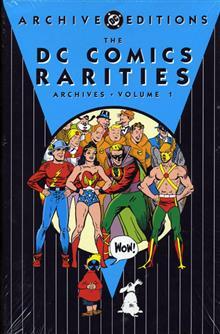 DC COMICS RARITIES ARCHIVES VOL 1 HC