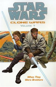 STAR WARS CLONE WARS VOL 7 WHEN THEY WERE BROTHERS