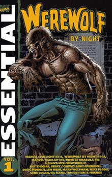 ESSENTIAL WEREWOLF BY NIGHT VOL 1 TP
