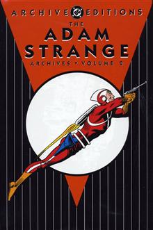 ADAM STRANGE ARCHIVES VOL 2 HC