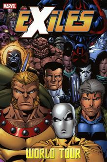 EXILES VOL 13 WORLD TOUR BOOK 2 TP