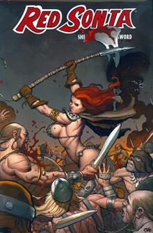 RED SONJA VOL 3 RISE OF GATH HC