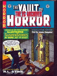 EC ARCHIVES VAULT OF HORROR VOL 1 HC