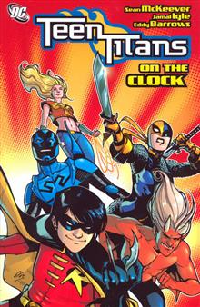 TEEN TITANS VOL 9 ON THE CLOCK TP