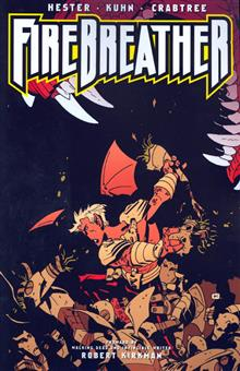 FIREBREATHER VOL 2 ALL BEST HEROES ARE ORPHANS TP