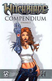 WITCHBLADE COMPENDIUM VOL 2 LTD ED HC