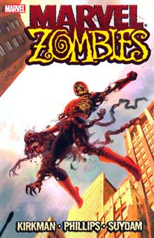 MARVEL ZOMBIES SPIDER-MAN COVER TP