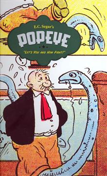 POPEYE HC VOL 03 LETS YOU AND HIM FIGHT