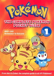 COMPLETE POKEMON POCKET GUIDE VOL 01