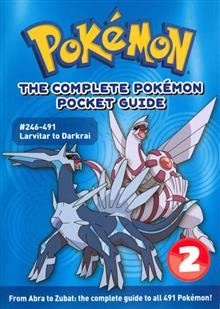 COMPLETE POKEMON POCKET GUIDE VOL 02