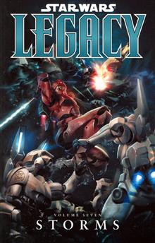 STAR WARS LEGACY VOL 7 STORMS TP