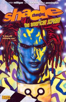 SHADE THE CHANGING MAN VOL 1 AMERICAN SCREAM TP NEW PTG (MR)