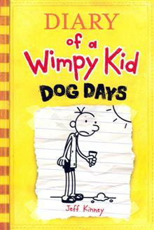 DIARY OF A WIMPY KID VOL 4 DOG DAYS HC