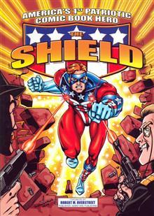 SHIELD AMERICAS FIRST PATRIOTIC COMIC BOOK HERO TP