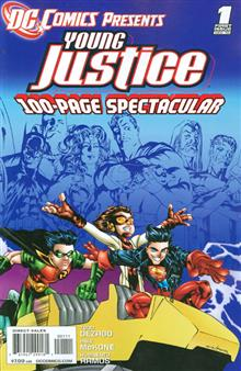 DC COMICS PRESENTS YOUNG JUSTICE #1