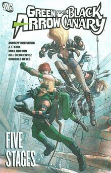 GREEN ARROW BLACK CANARY FIVE STAGES TP