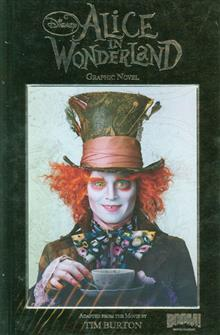 ALICE IN WONDERLAND HC SDCC JOHNNY DEPP PHOTO ED