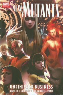 NEW MUTANTS PREM HC UNFINISHED BUSINESS