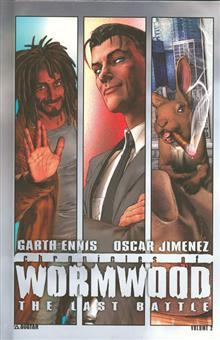 CHRONICLES OF WORMWOOD LAST BATTLE HC (MR)
