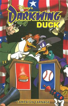 DARKWING DUCK CAMPAIGN CARNAGE TP (C: 1-0-0)