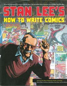 STAN LEE HOW TO WRITE COMICS HC