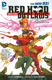RED HOOD AND THE OUTLAWS TP VOL 01 REDEMPTION