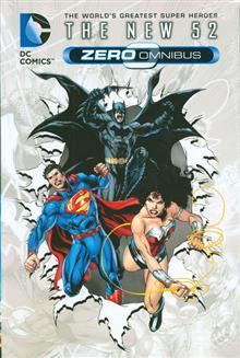 DC COMICS THE NEW 52 ZERO OMNIBUS HC (N52)