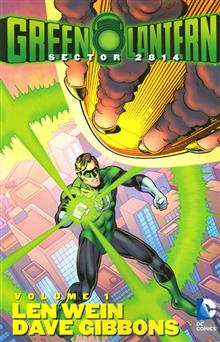 GREEN LANTERN SECTOR 2814 TP VOL 01