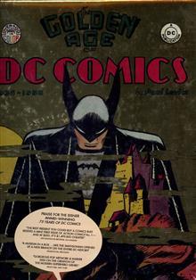 GOLDEN AGE OF DC COMICS 1935-1956 HC