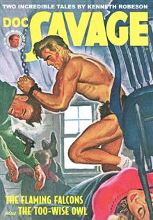 DOC SAVAGE DOUBLE NOVEL VOL 62 REG CVR