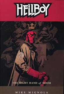HELLBOY VOL 4 THE RIGHT HAND OF DOOM TP
