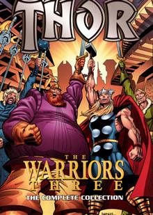 THOR WARRIORS THREE TP COMPLETE COLLECTION