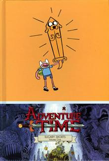 ADVENTURE TIME SUGARY SHORTS HC VOL 01