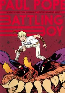 BATTLING BOY GN VOL 01