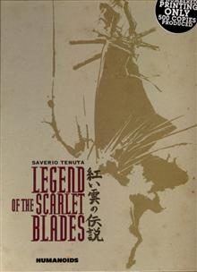 LEGEND OF THE SCARLET BLADES DLX HC (MR)